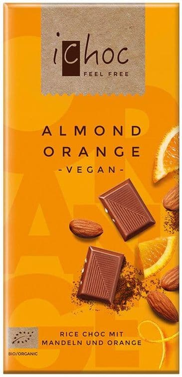 iChoc - Almond Orange