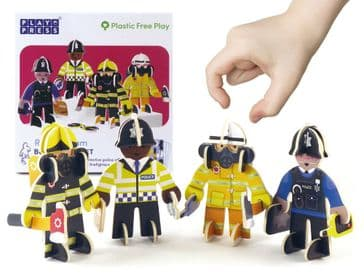 Rescue Team Pop-Out Play Set