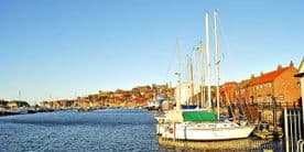 Whitby Canvas Print - Whitby Harbour