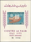 Afghanistan 1963  FAO/ FFH/ World Food Day/ Freedom From Hunger  IMPERF m/s (n28960b)