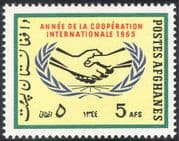 Afghanistan 1965 ICY/ Co-operation Year/ Handshake/ Hands/ Animation 1v (n31889)