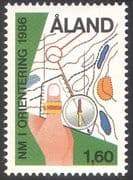 Aland 1986 Orienteering Championships/ Sports/ Map/ Compass 1v (n41365)