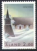 Aland 1995 St George's Church, Geta/ Buildings/ Architecture/ Religion 1v (n41606)