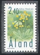 Aland 1999 Cowslip/ Flowers /Plants/ Nature 1v s/a (n41612)
