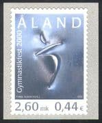 Aland 2000 Gymnastics/ Gymnast/ Sports/ Games/ Animation 1v s/a (n41416)