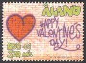 Aland 2001 St Valentines Day/ Hearts/ Love/ Animation 1v (n41377)
