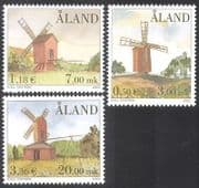 Aland 2001 Windmills  /  Mills  /  Buildings  /  Architecture  /  Commerce  /  Industry 3v (n39638)