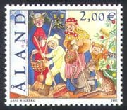 Aland 2002 St Canute's Day/ Christmas/ Festivals/ Cats/ Rabbit/ Tree/ Spider/ Animals 1v (n39701)