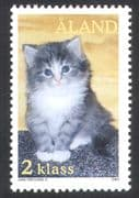 Aland 2003 Cats/ Kittens/ Domestic Animals/ Pets/ Nature/ Photography 1v (s4293)