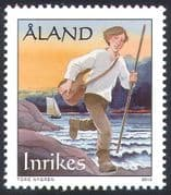 Aland 2010 Early Mail Delivery /Postal Transport/ Sailing Ship/ Boats/ Nautical 1v (n41586)