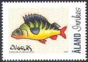Aland 2011 Fish/ Perch/ Art/ Painting/ Artists/ Animation 1v (n42257)
