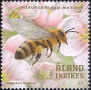 Aland 2018 Honey Bees/ Beekeeping/ Insects/ Nature/ Conservation/ Environment 1v (af1031)