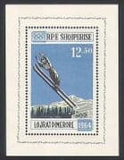 Albania 1963 Winter Olympic Games  /  Olympics  /  Ski Jumping  /  Sports 1v m  /  s (n35563)