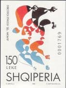 Albania 1998 Europa  /  National Festivals  /  Dancers  /  Dancing  /  Animation impf m  /  s n33890