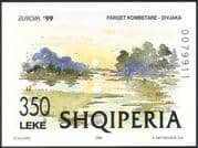 Albania 1999 Europa/ National Parks/ Trees/ Nature/ Lake/ Art/ Painting impf m/s (n33879)