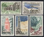 Algeria 1962 Tourism  /  Buildings  /  Architecture  /  Oil Well  /  Dam  /  Ruins  /  Mosque 5v n39242