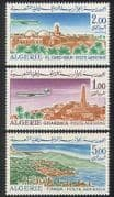Algeria 1967 Airmail  /  Aircraft  /  Planes  /  Transport  /  Buildings  /  Architecture 3v n39277