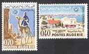 Algeria 1967 Tourism Year  /  Camel  /  Buildings  /  Architecture  /  Animals  /  Nature 2v n39592