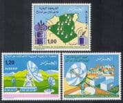 Algeria 1975 Satellite Telecommunications  /  Radio  /  Communications 3v set (n39219)