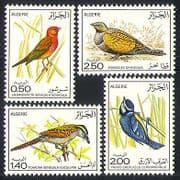 Algeria 1976 Birds  /  Nature  /  Wildlife  /  Grouse 4v set n32100