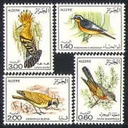 Algeria 1977 Birds  /  Nature  /  Hoopoe  /  Lark 4v set (n32102)