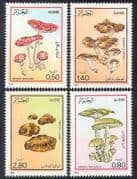 Algeria 1983 Fungi  /  Mushrooms  /  Nature 4v set (n39268)