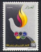 Algeria 1984 Olympic Games  /  Olympics  /  Sports  /  Dove  /  Birds  /  Nature  /  Animation 1v n39339