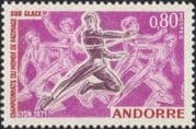Andorra 1971 Ice Skating Championships/ Sports/ Games/ Skaters 1v (n35744)