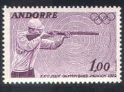 Andorra 1972 Olympics  /  Olympic Games  /  Sports  /  Shooting 1v (n35740)