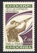 Andorra 1976 Olympics  /  Olympic Games  /  Sports  /  Shooting 1v (n35765)