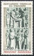 Andorra 1979 Co-Princes Monument/ Statue/ Royalty/ Art/ Craft/ People 1v (n41851)