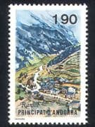 Andorra 1987 Ransol  /  Tourism  /  Village  /  Buildings  /  Mountain 1v (n39117)