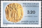 Andorra 1990 Coins/ Money/ Currency/ Commerce/ Business/ History 1v (n45473)
