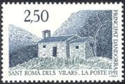 Andorra 1991 Chapel/ Church/ Buildings/ Architecture/ Animation/ Religion 1v (n44106)