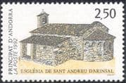 Andorra 1992 Church/ Buildings/ Architecture/ Animation/ Religion 1v (n44086)
