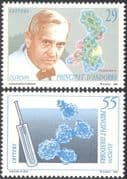 Andorra 1994 Europa/ Medical/ AIDS/ Alexander Fleming/ Medicine/ Health/ Welfare 2v set (n43627)