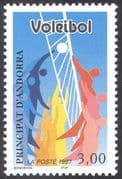 Andorra 1997 Volleyball/ Games/ Sports/ Animation 1v (n42668)