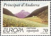 Andorra 1999 Europa/ National Parks/ Mountains/ Trees/ Forest/ Nature 1v (n45491)