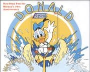 Antigua 1999 Disney/ Donald Duck/ Water Skiing/ Mickey 70th/ Sports/ Cartoons  1v m/s  (b1605x)