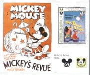 Antigua & Barbuda 1993  Mickey Mouse/ Disney/ Cartoon Films/ Cinema Posters  1v m/s (ad1110)