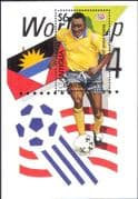 Antigua & Barbuda 1994 Football/ World Cup Championships/ WC/ Sport/ Soccer/ Games 1v m/s (s1635g)