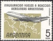 Argentina 1959 Hawker Siddeley Comet 4/ Aviation/ Plane/ Transport/ Aircraft/ Commerce  1v (n33823)