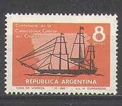 Argentina 1965 Ship  /  Sail  /  Boat  /  Welsh Migration 1v n24214