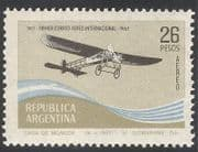 Argentina 1967 Aircraft  /  Transport  /  Aviation  /  Planes  /  Flight  /  Commerce 1v (n30445)