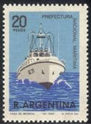 Argentina 1968 Boats/ Coastguards/ Nautical/ Transport /Maritime 1v (n24215)