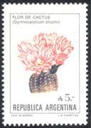 Argentina 1985 Cactus/ Cacti/ Succulents/ Flowers/ Plants/ Nature/ Currency Change 1v (n25810)