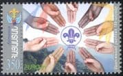 Armenia 2007 Europa/ Scouts/ Scouting/ Youth/ Leisure/ Badge/ Hands/ Salute 1v (n44186)
