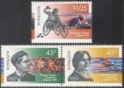 Australia 1996 Olympic Games/ Olympics/ Swimming/ Running/ Paralympics/ Wheelchair Athletes/ Sports 3v set (n22472)