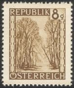 Austria 1945 Prater Woods/ Views/ Parks/ Trees/ Plants/ Nature/ Conservation 1v (at1075a)