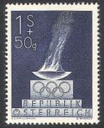 Austria 1948 Olympic Games  /  Olympics  /  Fund  /  Sports  /  Flame  /  Rings  /  Animation 1v n40718